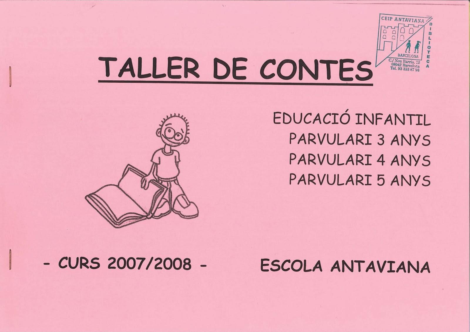 http://issuu.com/blocsdantaviana/docs/dosier_contes_07-08