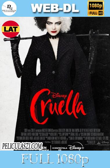 Cruella (2021) Full HD WEB-DL 1080p Dual-Latino