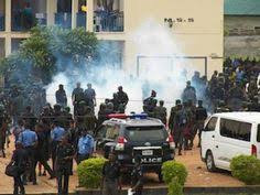 Notorious Cultists Burn Police Division In Bayelsa