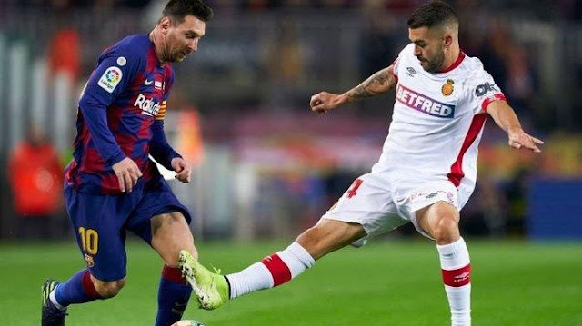 فريق برشلونة يعلن ظهور إصابة كورونا بصفوف الفريق