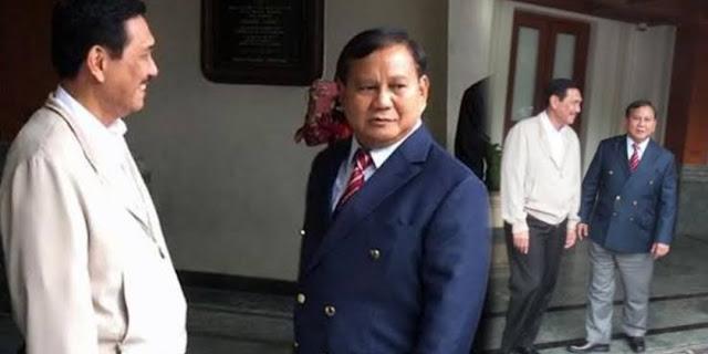 Pesan Luhut ke Prabowo: Jangan Dengerin Pikiran yang Tak Jelas Basisnya