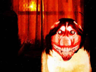 Creepypasta Smile Dog