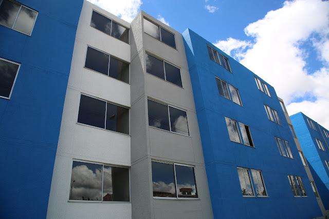 En Bogotá comenzó entrega de viviendas en zona de alto riesgo