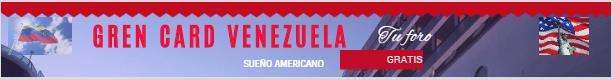 LOTERÍA GREEN CARD VENEZUELA
