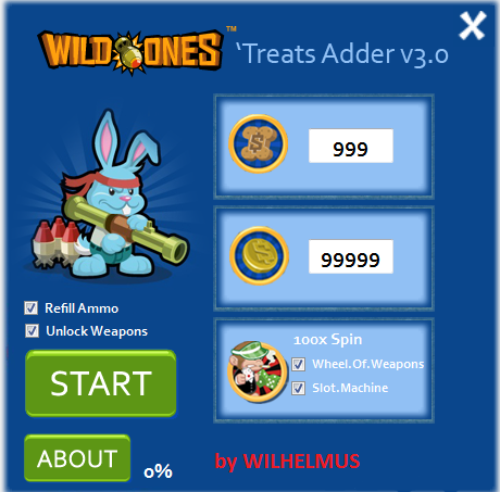 wild ones treats adder v3.0
