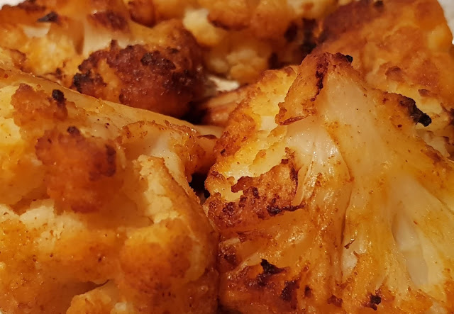 Roasted Paprika Cauliflower