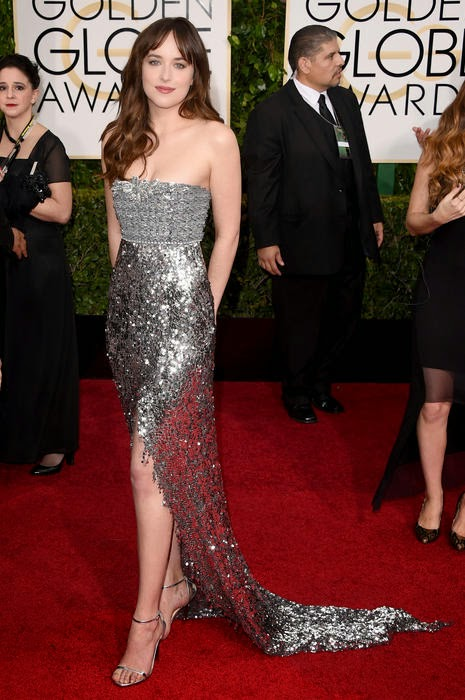 Dakota Johnson best dressed at Golden Globe Awards 2015