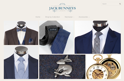 Jack bunneys wedding ties for men