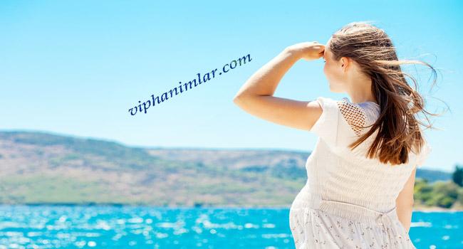 Yaz Sıcaklarında Hamilelere Öneriler