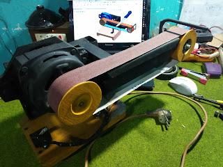 DIY Belt Sander, How To Make Belt Sander, Mesin Amplas, Cara Buat Mesin Amplas, Mesin Amplas Rakitan, DIY Mesin Amplas