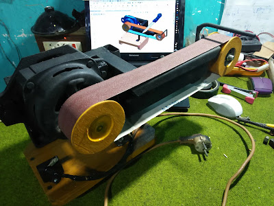 DIY Belt Sander, How To Make Belt Sander, Mesin Amplas, Cara Buat Mesin Amplas, Mesin Amplas Rakitan, DIY Mesin Amplas