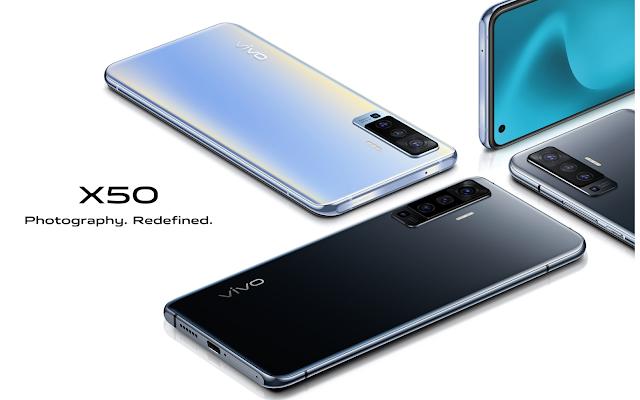 Harga dan Spek Vivo X50