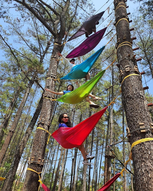 Tretes Treetop Adventure Park Pasuruan