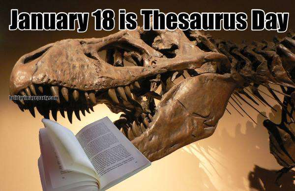 National Thesaurus Day Wishes Pics