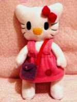 PATRON GRATIS HELLO KITTY DE TELA 958