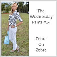 Sydney Fashion Hunter - The Wednesday Pants #14 - Zebra on Zebra