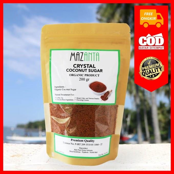 Gula Semut atau Gula Kelapa Organik Mazanta - Gula Merah Kualitas Premium