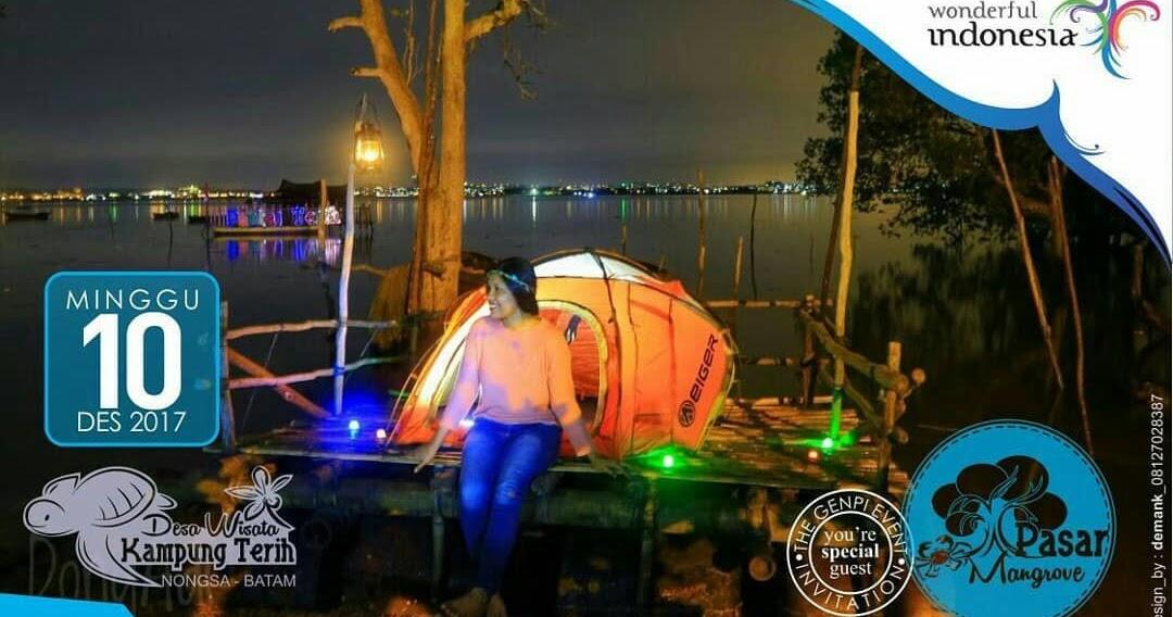 Pasar Mangrove Desa Wisata Kampung Terih Nongsa Batam Ayo