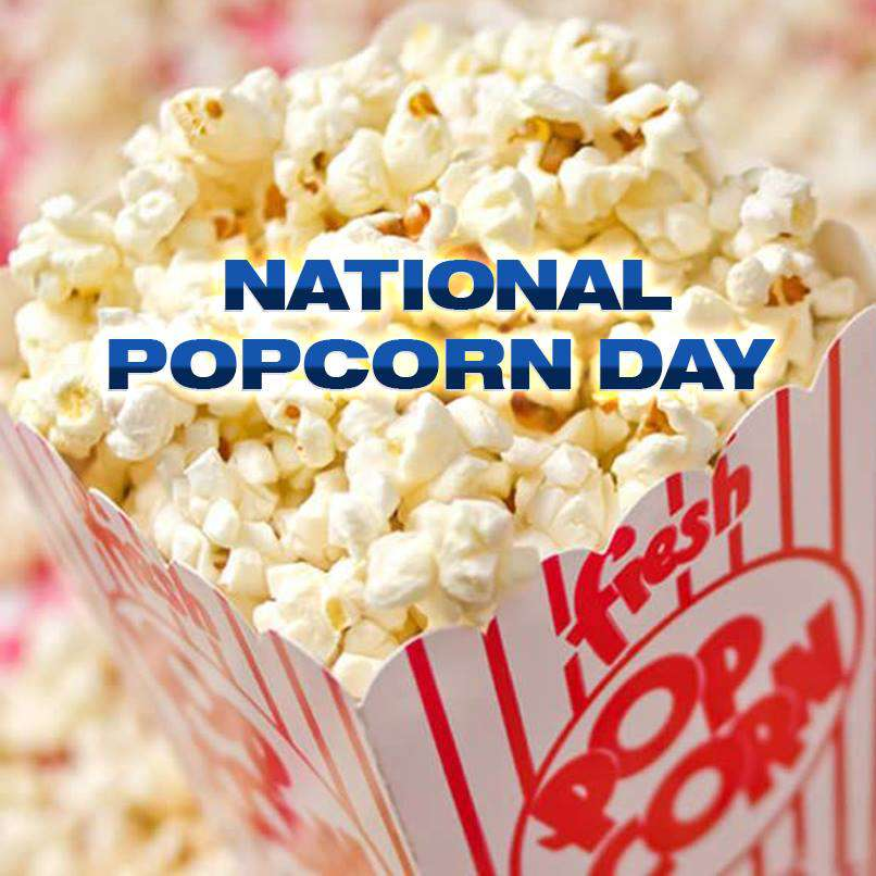 National Popcorn Day Wishes Images download