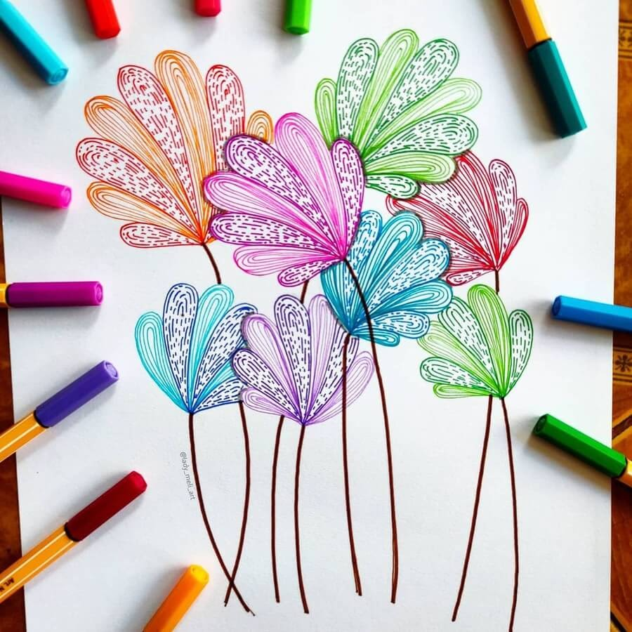 11-Different-color-flowers-lady_meli_art-www-designstack-co