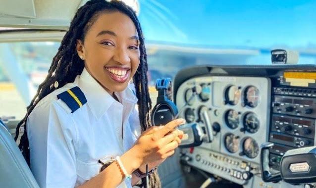 'Só agradeço a Deus', diz nigeriana ao superar desafios para se tornar pilota de avião