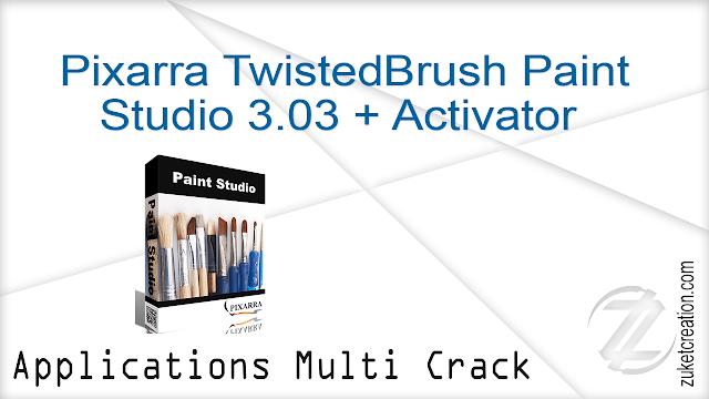Pixarra TwistedBrush Paint Studio 3.03 + Activator