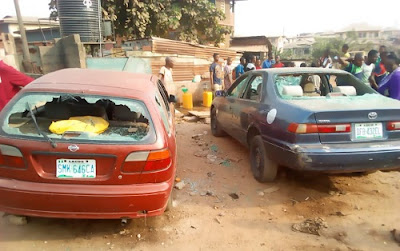 One feared dead, vehicles vandalized as secondary school students clash in Ibadan