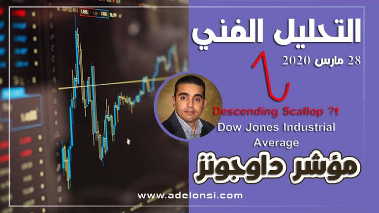 مؤشر داوجونز، التحليل الفنية، البورصة العالمية، الأسواق العالمية، الأزمة العالمية