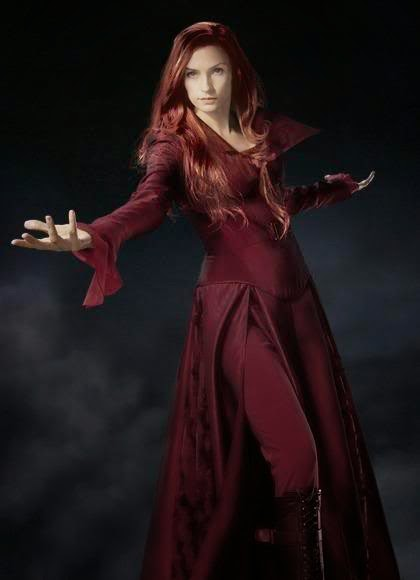 Jean Grey - Phoenix: Fotos Promocionais X-men: The Last Stand