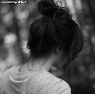 sad dp girl