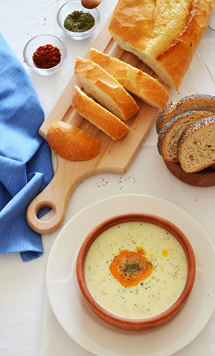 Recipe: Turkish Yogurt Soup - Yayla Çorbası - shewandersshefind.com #soup #recipe