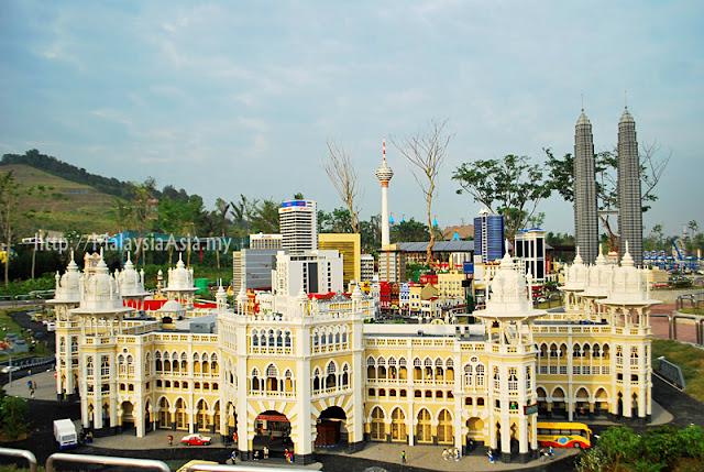 Kuala Lumpur Railway Station Lego Model