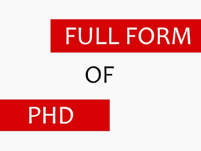 What is full form of PHD in Hindi