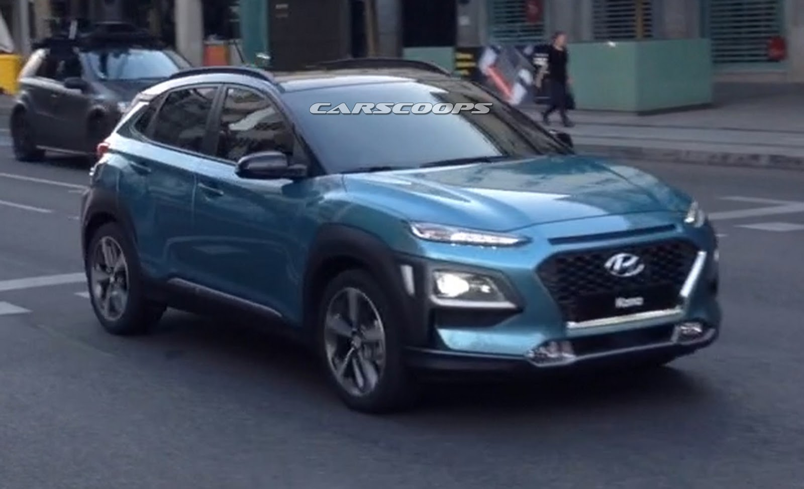 Exclusive New Hyundai Kona Captured Completely Undisguised