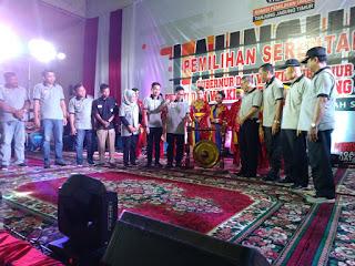 Ciptakan Pemilu yang Sempurna, KPU Tanjabtim Launching Pilkada Serentak 2020