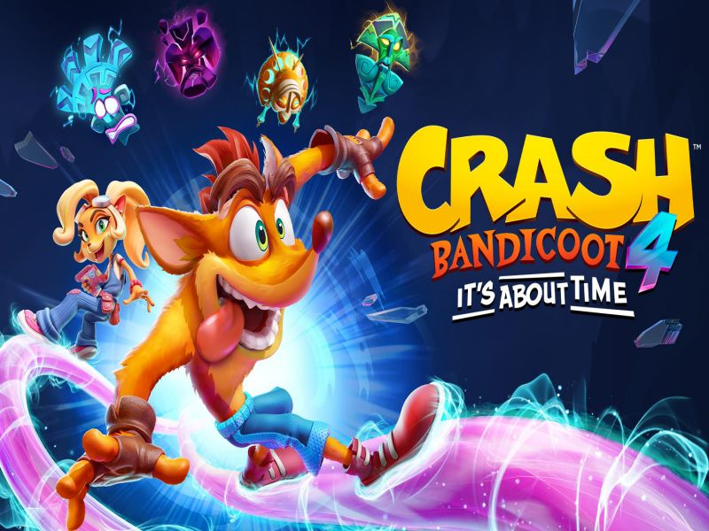 Download Crash Bandicoot 4 It's About Time Game PC Free