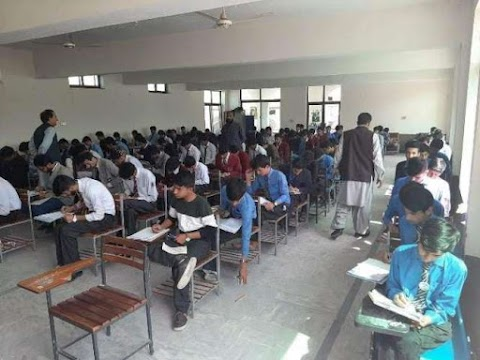 The matriculation exam conducted by the Abbottabad Academic Board continued