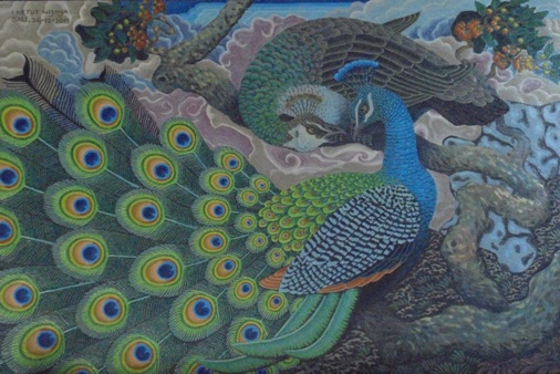 Peafowl Bird Symbolism, Bird Blue Peafowl, Indian Peafowl Birds