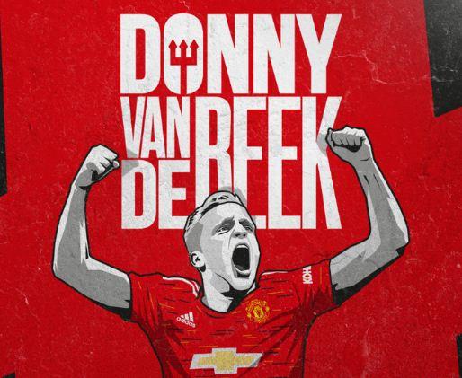 Manchester United Resmi Rekrut Donny van de Beek dari Ajax
