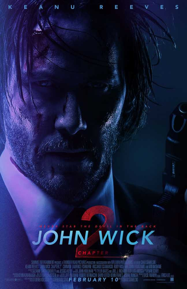 Poster John Wick Chapter 2 (2017) Full Movie Download Dual Audio 300MB
