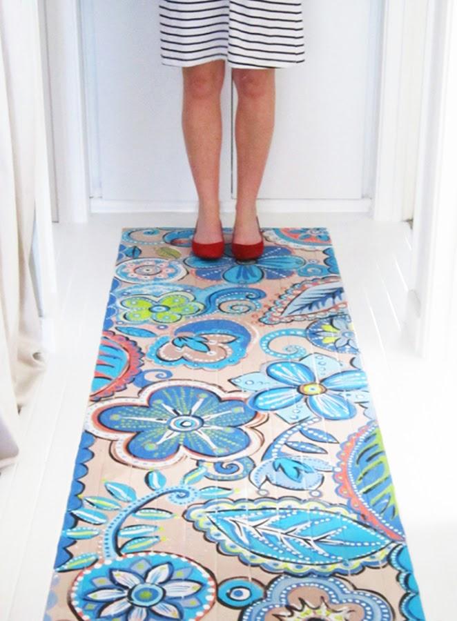 ideas suelos pintados