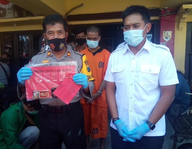 Pengedar Narkoba Ditangkap Polsek Asemrowo Di Pelemahan Surabaya