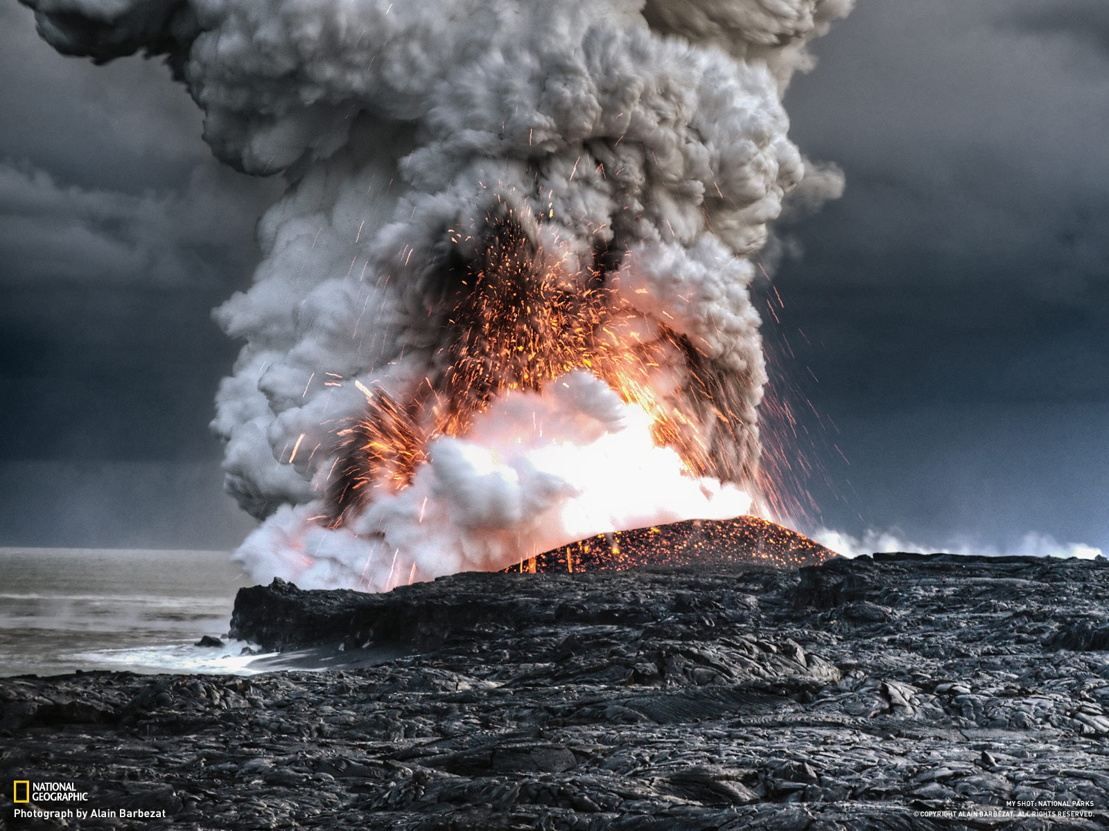 Pic New Posts Volcano Eruption Wallpaper Hd