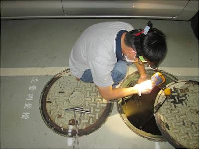 檢查污水設備