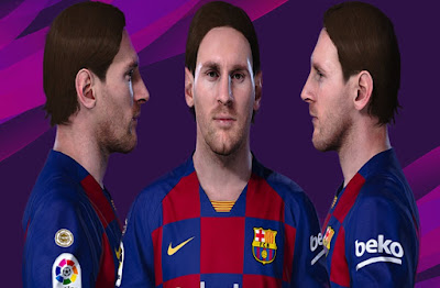 PES 2020 Faces Lionel Messi by SR