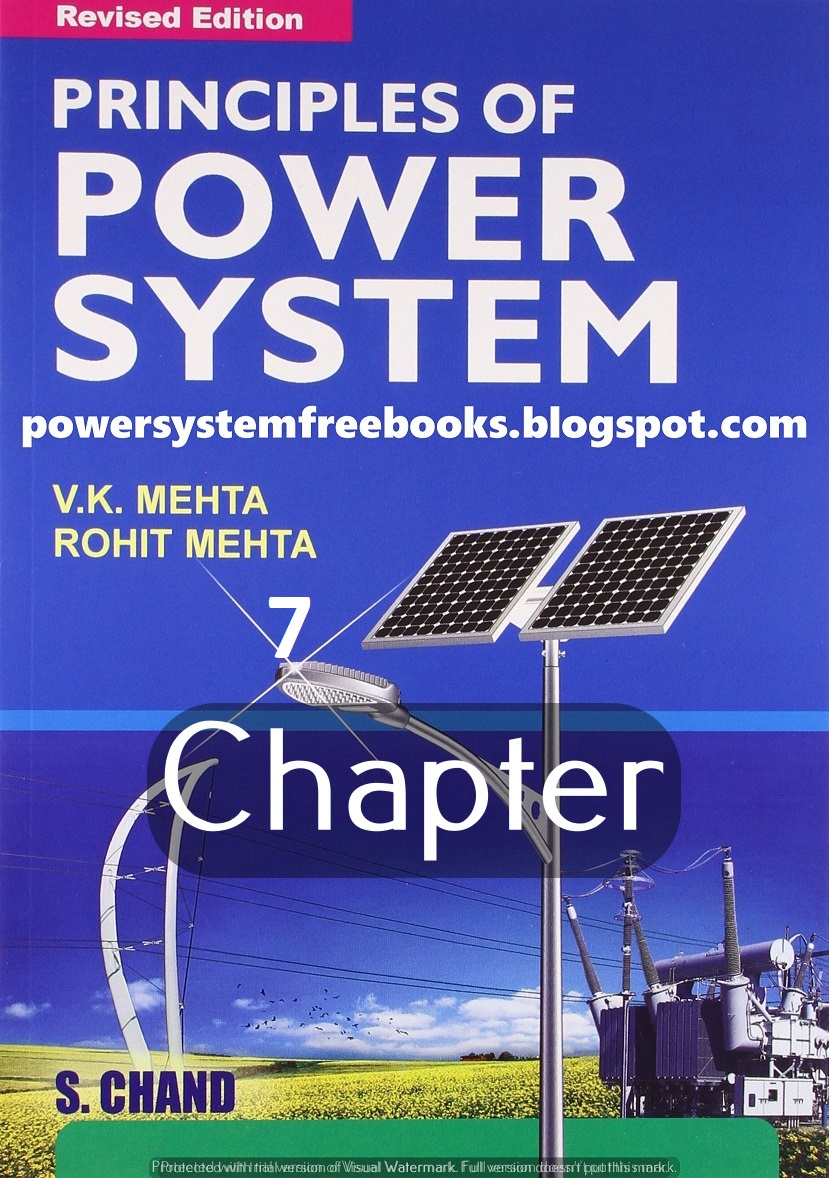 Principle of Power System By V K Mehta and Rohit Mehta Pdf