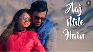 Aaj Mile Hain (LYRICS) - Yasser Desai