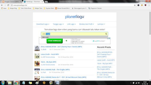 itulah yang akan kami bahas pada perjumpaan kita kali ini Cara Cepat Download Lagu Via PC, Super Mudah!