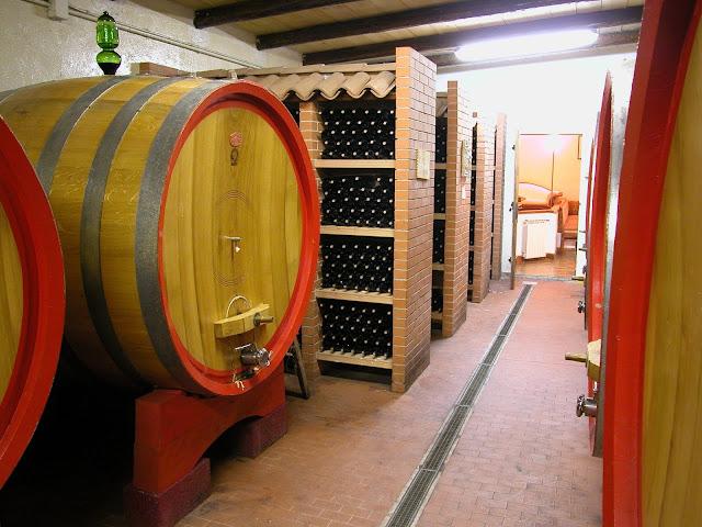 La Valentina wine cellar in Abruzzo
