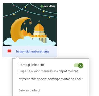 cara membagikan link google drive